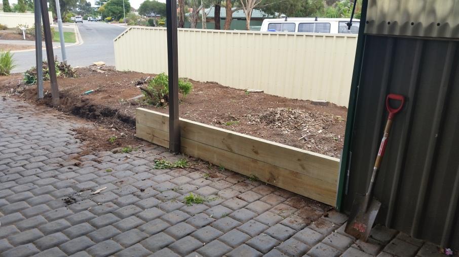 Mr Miyagi Backyard paint the fence….. – styling interiors